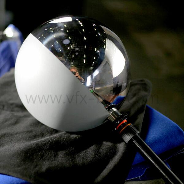25cm chrome grey ball vfx ball